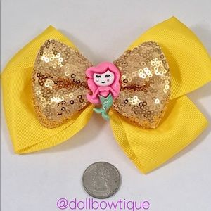 Other - Large yellow mermaid bow